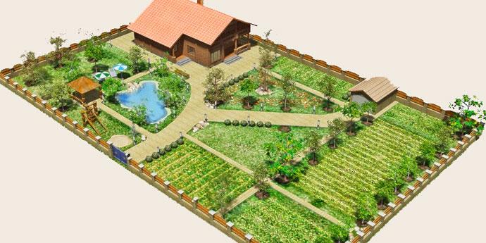 Дизайн земельных участков своими руками
